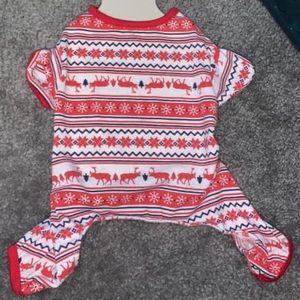 dog pajamas brand new size small